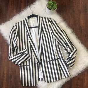 Striped blazer!